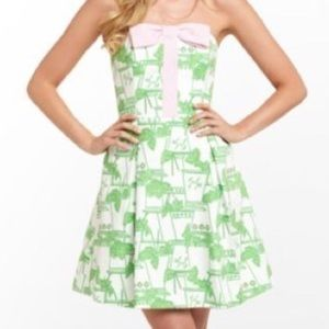 Lilly Pulitzer Leandra Just Add Mint Derby Dress